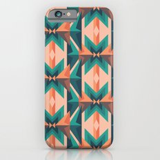 Low Poly Desert Bloom iPhone 6s Slim Case