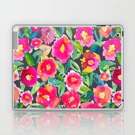 Hot floral mess - Dark Laptop & iPad Skin