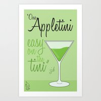 scrubs Art Prints featuring Tv drink quotes [ SCRUBS ] by Fabio Castro