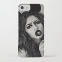 minnie iPhone & iPod Cases featuring Minnie Mouse  by Lídia Vives