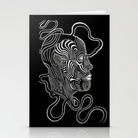 anatomy Stationery Cards featuring Anatomy  by Martha Calderon
