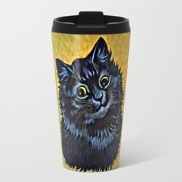 Louis Wain's Cats - Black Cat Travel Mug
