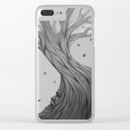 The Gods are always watching Clear iPhone Case