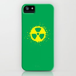 Square Heroes - hulk iPhone Case