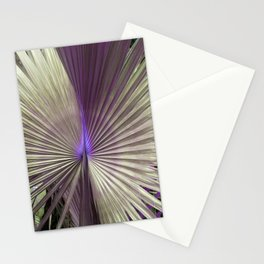 golden hearts of purple palms Stationery Cards