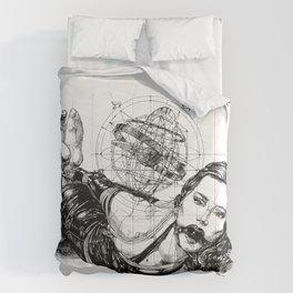 Armillary Lady.  Comforters