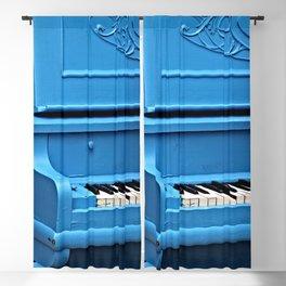 Piano Blues Blackout Curtain