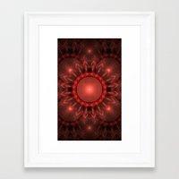 solar system Framed Art Prints featuring Solar System by Brian Raggatt