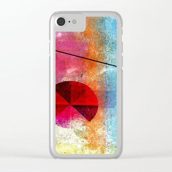 attributes Clear iPhone Case