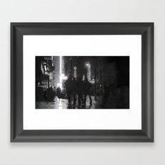 NYC By Times Square 2 Framed Art Print