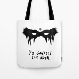 Your Fight Is Over (Trigedasleng) Tote Bag