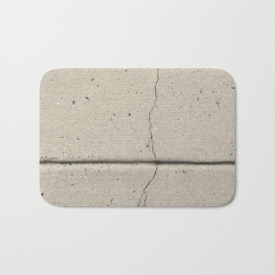 Real, Concrete, not Abstract Bath Mat