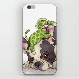 Pouting Bubba iPhone Skin