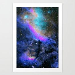 Charm Nebula Art Print
