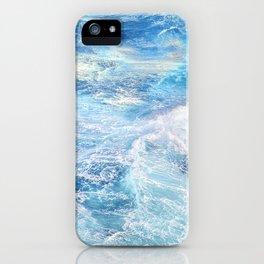 """Sea waves"". High sea.... iPhone Case"