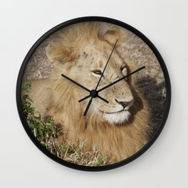 Happy Lion Wall Clock