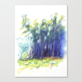 Scenes from the Forest III Canvas Print