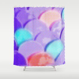 Dotty Scales Shower Curtain