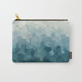 Ice Blue Mountains Moon Love Carry-All Pouch