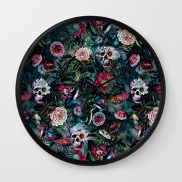 Poisonous Forest Wall Clock