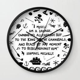 Savage Wall Clock