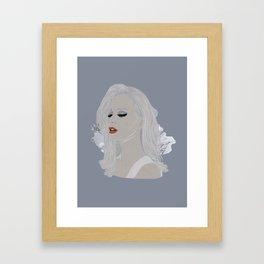 Wintery 2 Framed Art Print