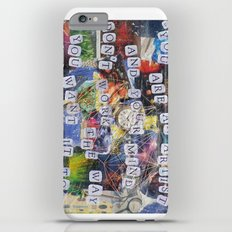 Portrait of My Brain iPhone 6 Plus Slim Case