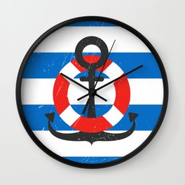 Back to the sea! Wall Clock