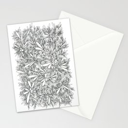 Black Growth Stationery Cards