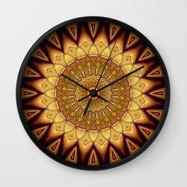 Mandala Wisdom Wall Clock