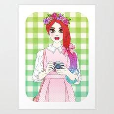 Pretty as a Picture Art Print