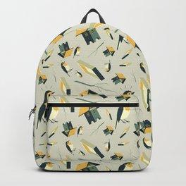 Flying Birdhouse (Pattern) Backpack