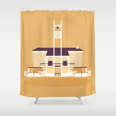 Glendale Adventist Academy Chapel Shower Curtain