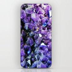 Amethyst Geode iPhone & iPod Skin