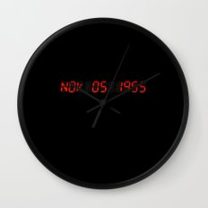 Nov 05 1955 - Back to the future Wall Clock