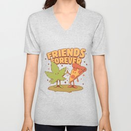 Cute Friends Unisex V-Neck