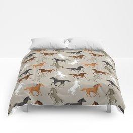 Horse Pattern | Horseback Riding Pony Stallion Comforters
