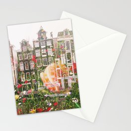 Flowers in Amsterdam Stationery Cards