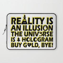 Buy Gold, Bye! Laptop Sleeve