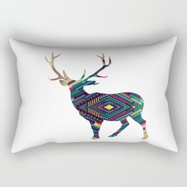Deer abstract Rectangular Pillow
