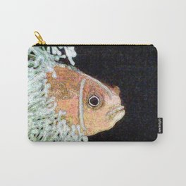 Glowing clownfish Carry-All Pouch