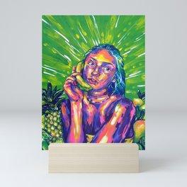 Banana Phone Mini Art Print