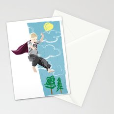 The man who has no imagination has no wings. Stationery Cards