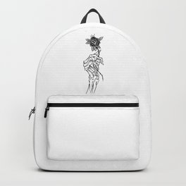 skeleton hand Backpack