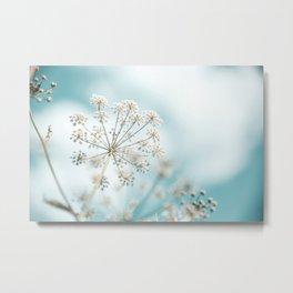 Pastel field idyll Metal Print