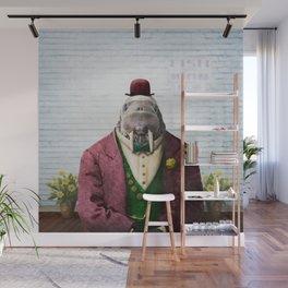 Portrait of Wendell Walrus Wall Mural
