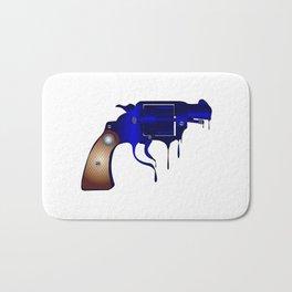 Melting Gun Bath Mat