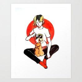 Nekoma Art Print