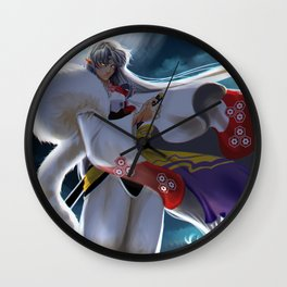 Sesshomaru Wall Clock