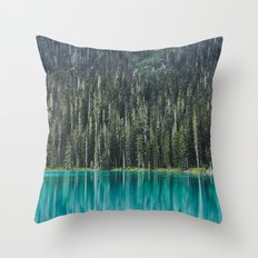 Joffre Lake Throw Pillow